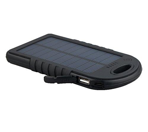 Pannello Solare Con Porta Usb : Expower mah caricabatteria pannello ad energia solare
