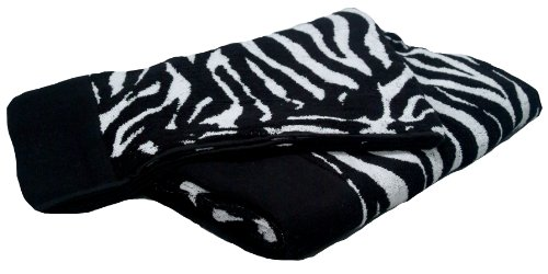 Scene Weaver Journey 40 By 70-Inch 100-Percent Cotton Animal Print Beach Towel, Zebra back-1033557
