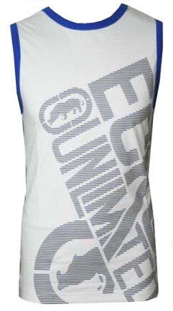 Mens Ecko Unltd 'Trailer' Sleeveess Vest Top White small
