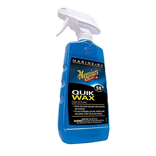 Meguiar's M5916 Marine/RV Quik Wax Clean & Protect - 16 oz. (Car Wax Protect compare prices)