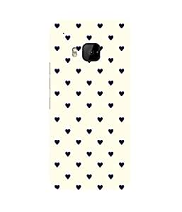 Small Hearts (2) HTC One M9+ Case