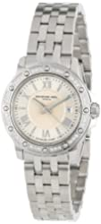 "Raymond Weil Women's 5399-STS-00657 ""Tango"" Stainless Steel Diamond-Bezel Dress Watch"