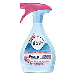 Febreze 84221 Fabric Refresher and Odor Eliminator, Downy April Fresh, 27 oz. Spray Bottle (Pack of 6)