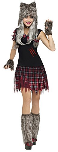 Fun World Costumes Women's Wick'D Wolfie Adult Costume