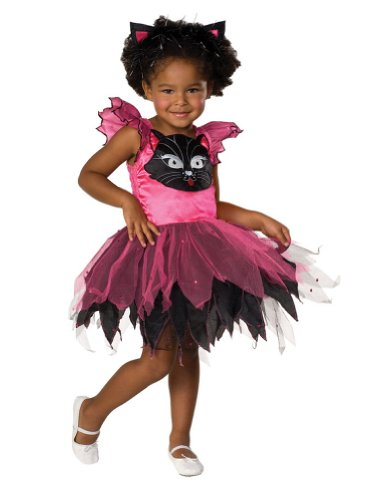 girls - Kitty Cat Kids Costume Sm 4-6 Halloween Costume - Child 4-6