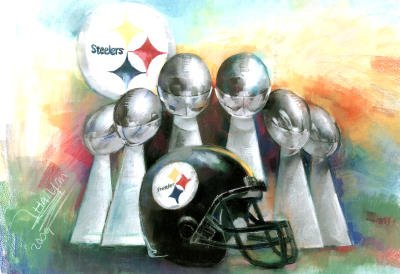 Offer For Professionally Framed Pittsburgh Steelers 6