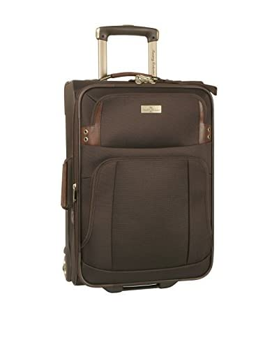 Tommy Bahama Luggage Harbor 21 Expandable Rolling Upright, Brown