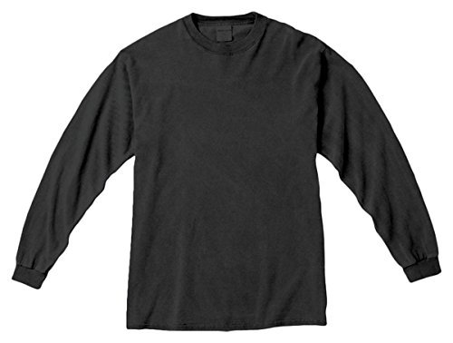Comfort Colors Ringspun Garment-Dyed Long-Sleeve T-Shirt, XL, PEPPER (Garment Dyed T Shirt compare prices)