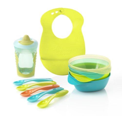 Tommee Tippee Explora Feeding Kit Including Bib (Blue) front-821600