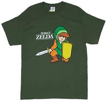 ゼルダの伝説◆Tシャツ Link Kneeling w/ Sword - リンクLegend Of Zelda任天堂