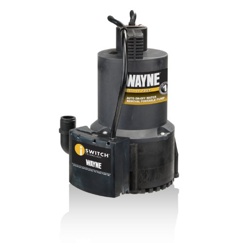 1/4 hp; max. Flow rate is 3000 gallons per hour. Can be left unattended to remove water.