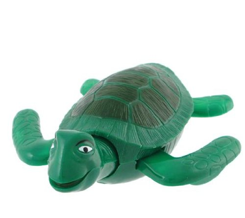 """Sea Life Swimmers - Sea Turtle 5"""" Wind Up Bath Swimmer Toy front-1050122"""