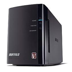 BUFFALO LinkStation Pro Duo 2-Bay 2 TB (2 x 1 TB) RAID High Performance Network Attached Storage (NAS) - LS-WV2.0TL/R1