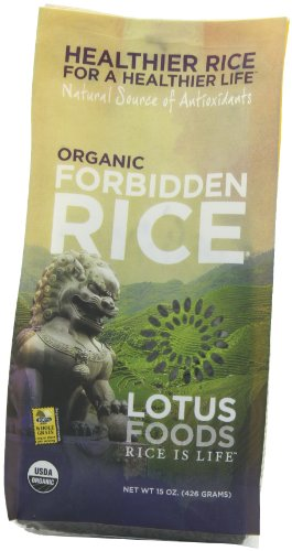 Lotus Foods Organic Forbidden Rice, 15-Ounce (Pack of 6) (Rice Pasta Organic compare prices)
