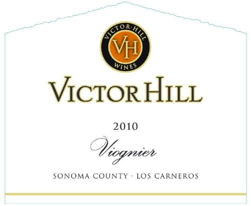 2010 Victor Hill Viognier Sonoma County 750 Ml