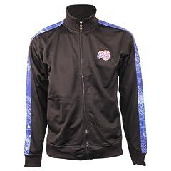 Zipway Mens NBA Blue Print Full Zip Track Jacket by Zipway