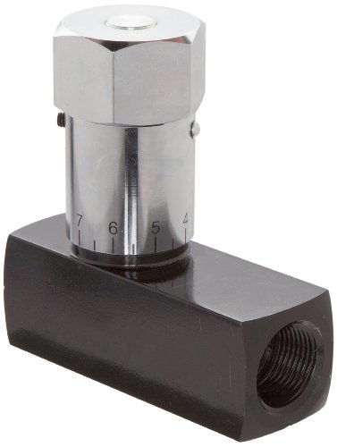 Prince WFC-1200 Wolverine Flow Control Valve, Carbon Steel, In-Line, 25 gpm Max Flow, 3/4