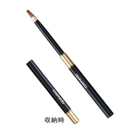 匠の化粧筆コスメ堂 熊野筆メイクブラシ 回転式リップブラシ ウィーゼル Eー9