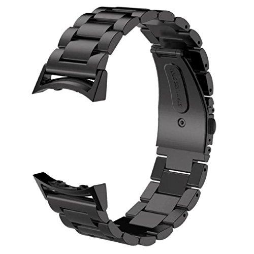 aresh per Samsung Gear S2SM-R720accessori nastro con spina, solida in acciaio inox cinturino per orologio in metallo +-Presa per Samsung Galaxy Gear S2R720