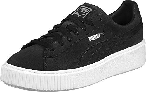 Suede Platform - 362223 001 Puma Black-Black-Puma White - (39, 001 black-black-white)