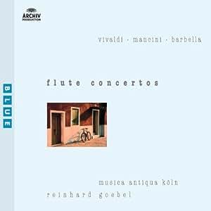 Vivaldi / Mancini / Barbella - Concertos pour flûte