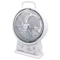 Catalog Source GS-26R Portable Rechargeable Fan