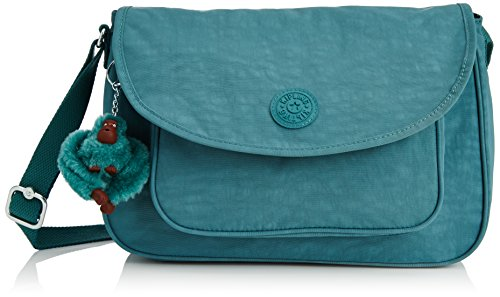 Kipling Womens Sunita Shoulder Bag Dynasty Green