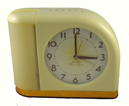 Westclox 4300X 1950S Moonbeam Clock With Lighted Dial