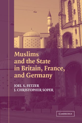Muslims And The State In Britain, France, And Germany (Cambridge Studies In Social Theory, Religion And Politics) front-999852