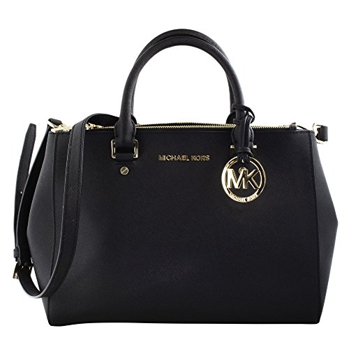 Michael Kors - Sutton Medium, Shopper da donna, nero, unica