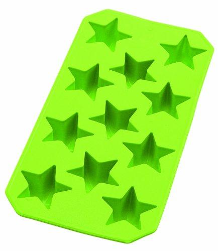 Lékué Bac à Glaçons Étoile 13 Cavités Vert Slim