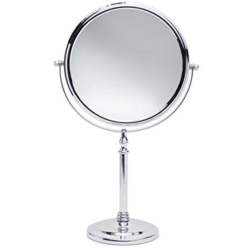 Bathroom Makeup Mirrors: Women Vanity Makeup Mirror Large Countertop Bathroom