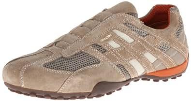 Geox U Snake L, Sneakers Basses homme, Beige (C0845), 39 EU