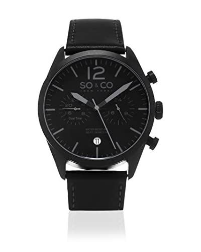 SO & CO New York Reloj de cuarzo Gp15451 Negro 42  mm