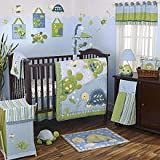 Cocalo 8 Piece Crib Set, Turtle Reef (Discontinued by Manufacturer)