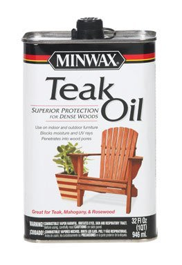 Minwax 67100 Teak Oil, 1 Quart (Outdoor Wood Furniture Oil compare prices)