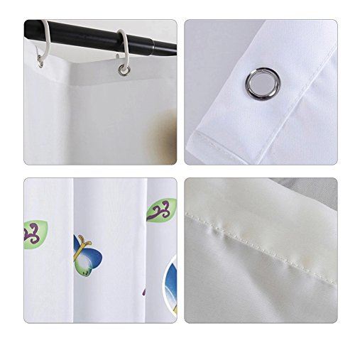 S zone shower curtain for bathroom home decoration for Zone bathroom accessories