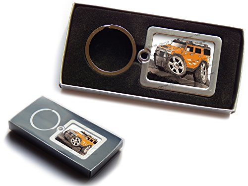 hummer-h2-suv-official-koolart-premium-metal-keyring-with-gift-box-choose-a-colour-orange