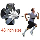 48 inch Speed Training Resistance Parachute Chute Power