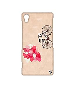Vogueshell Heart Shaped Balloons Printed Symmetry PRO Series Hard Back Case for Sony Xperia Z2
