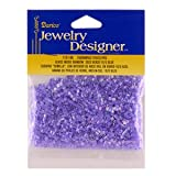 10/0 Seed Beads, Inside Rainbow, Blue, 20 Gram Pkg