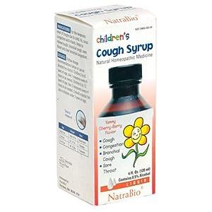 儿童感冒药海淘:NatraBio 儿童止咳糖浆 天然顺势疗法