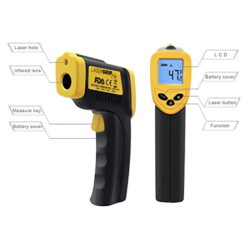 Etekcity Lasergrip 774 Non-contact Digital Laser