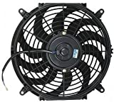 PROCOMP 12″ INCH ELECTRIC COOLING AUTOMOTIVE RADIATOR FAN CURVED 12 VOLT