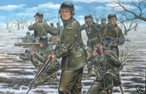 revell 1:72 us infantry ardens wwII model figures 2503
