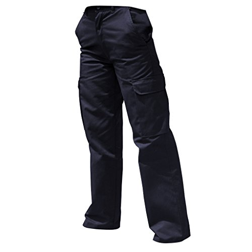 Harbour - Pantaloni Cargo da Lavoro - Donna (44 regolare) (Blu Navy)