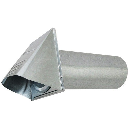 Deflecto Gvh4 4-Inch Galvanized Vent Hood front-469792