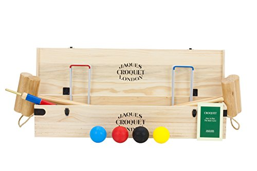 Jeu Croquet - Budleigh Croquet Set - Fabriqué en Angleterre