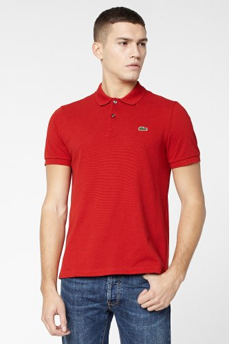 L!VE Collection Short Sleeve Solid Pique Polo