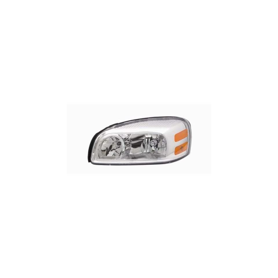 OE Replacement Buick/Chevrolet/Pontiac/Saturn Driver Side Headlight Assembly Composite (Partslink Number GM2502256)